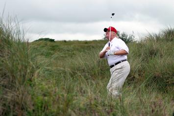 Donald Trump Plays Golf With Tiger Woods & Dustin Johnson