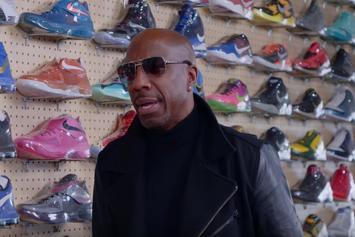 Watch JB Smoove Go Sneaker Shopping At Flight Club Los Angeles