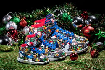 "Concepts x Nike SB Dunk High ""Ugly Christmas Sweater"" Arrives This Week"