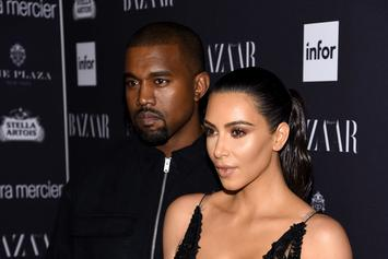 Kanye West Wins Bingo & Kim Kardashian Looks Wax-Like At Chrissy Teigen's Birthday