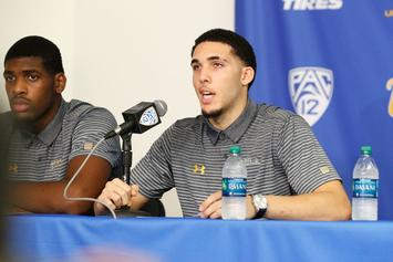 LaVar Ball Reportedly Pulls LiAngelo Out Of UCLA