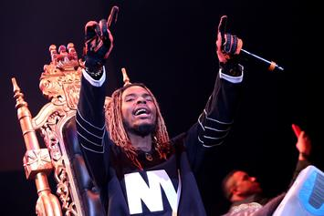 Fetty Wap Keeps It Clean During B'Nai Mitzvah Performance