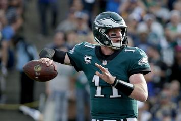 Eagles' Carson Wentz Reportedly Tore ACL In Win Over Rams