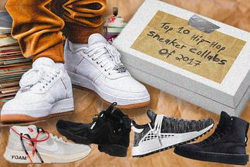 Top 10 Hip-Hop Sneaker Collabs Of 2017