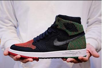 "Air Jordan 1 Flyknit ""Black History Month"" : First Look"