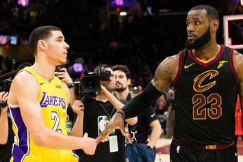 Audio Surfaces Of LeBron's Convo With Lonzo Ball After Cavs Win