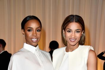 Ciara & Kelly Rowland Sing Christmas Songs At Children's Hospital