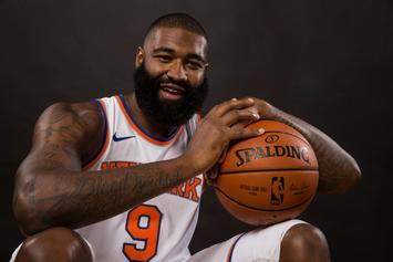 "Knicks' Kyle O'Quinn Explains How He Became ""Bar Mitzvah Man"""