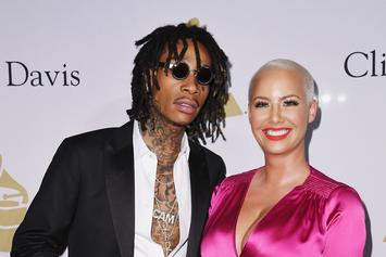 Amber Rose & Wiz Khalifa's Son Realizing Santa Visited Both His Parents Is Amazing