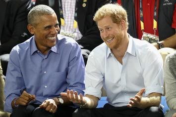 Prince Harry Interviews Barack Obama On His Favourite NBA Players, T.V. & More