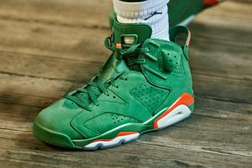 """Gatorade"" Air Jordan 6 NRG Closes Out Jordan Brand's 2017"