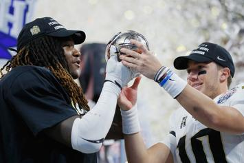 UCF Football To Raise Championship Banner After 13-0 Season