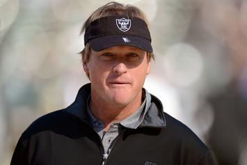 Oakland Raiders To Name Jon Gruden New Head Coach