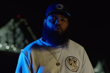 "Stalley Cruises The Streets In His Porsche 911 In New Video For ""Squattin'"""