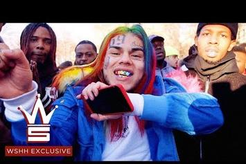 "6ix9ine Rolls Out ""KEKE"" Video feat. A Boogie Wit Da Hoodie & Fetty Wap"