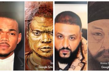We Used Google Arts & Culture App To Find Rapper Painting Look-Alikes