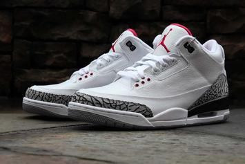 "Modified ""White Cement"" Air Jordan 3 Releasing For 30th Anniversary"