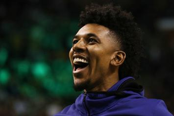 Nick Young Gets Hypnotized, Makes Out With A Puppet