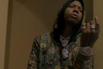 "Moneybagg Yo's Party's It Up At The Crib In His New Video For ""Nonchalant"""