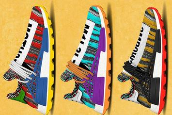 """Pharrell's Adidas NMD """"Afro"""" Collection Unveiled: First Look"""