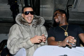 Diddy Caught Cutting French Montana & Fabolous Out Of Star-Studded Photo