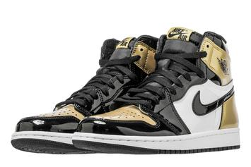 "Air Jordan 1 ""Gold Toe"" Release Date Announced"
