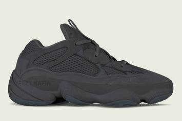 """Utility Black"" Adidas Yeezy Desert Rat 500 Releasing This Year"
