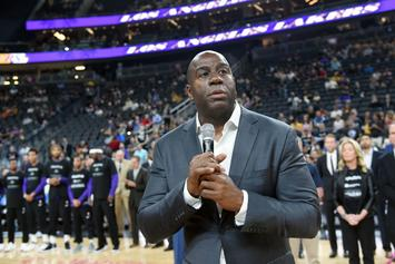 NBA Fines Lakers After Magic Johnson's Comments About Giannis Antetokounmpo