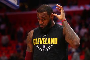 "LeBron James Reportedly Cursed At Cavs Execs In ""Heated Meeting"""