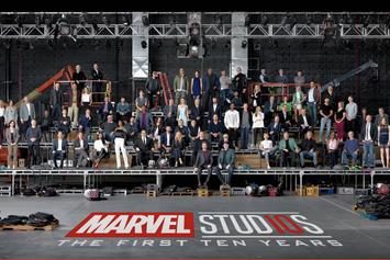 Marvel Cinematic Universe Reveals 10 Year Anniversary Photo With Cast & Crew