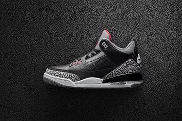 """Black Cement"" Air Jordan 3 Footaction Release Locations Revealed"