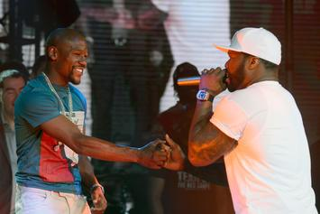 50 Cent Clowns Floyd Mayweather's Recent Outfit Choice