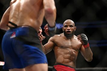 UFC Fans Can't Get Over Yoel Romero's Defeat Of Luke Rockhold