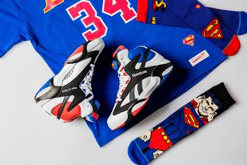 "Reebok Releasing Shaq Attaq ""Superman"" Collection"