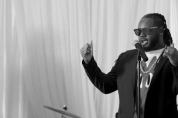 "T-Pain Is A Wedding Singer In New ""May I"" Video"