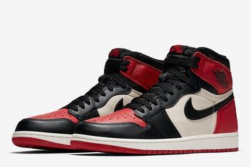 "Air Jordan 1 ""Bred Toe"" Release Locations, Details Announced"