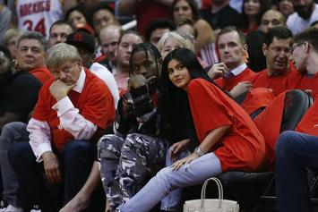 Travis Scott & Kylie Jenner Spotted In Public For First Time Since Birth of Child