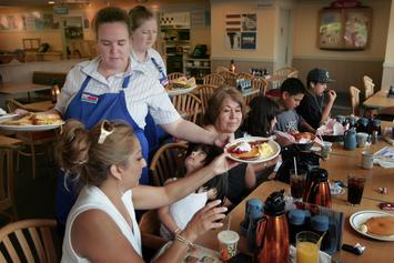 IHOP Celebrates National Pancake Day By Giving Away Free Pancakes
