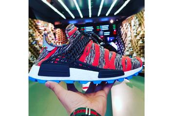 "Pharrell x Adidas NMD Hu ""Afro Pack"" New Images Revealed"