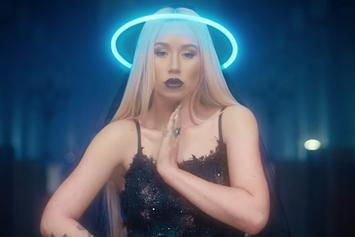 "Iggy Azalea Takes Over A Neon-Filled Church In New Video For ""Savior"" With Quavo"
