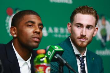 Boston Celtics Officially Introduce Kyrie Irving, Gordon Hayward