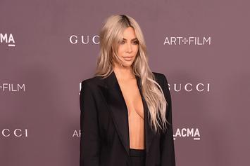 Kim Kardashian Takes Spelling Advice From Tyga