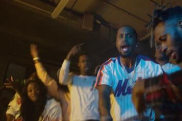 "Safaree Samuels Drops ""Hunnid"" Video With Cameo By Charlamagne Tha God"