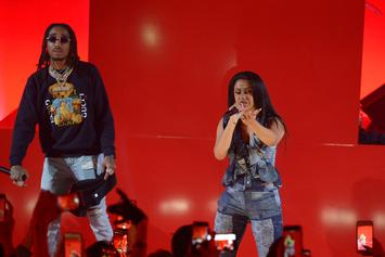 "Quavo Praises ""Sister-In-Law"" Cardi B On International Women's Day"