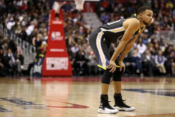 Golden State Warriors' Steph Curry To Miss Time With Ankle Injury