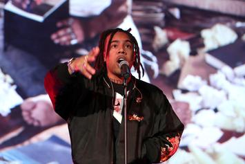 Vic Mensa Kicked Off United Airlines Flight For Reportedly Talking On The Phone To A Depressed Fan