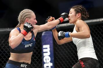 "UFC's Justine Kish Defecates In Ring During Loss: ""Sh*t Happens"""