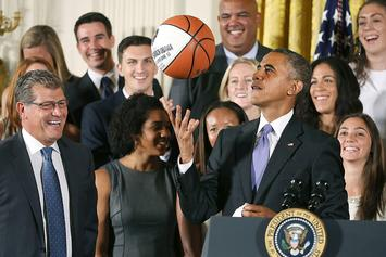 Barack Obama Reveals His NCAA Tournament Bracket