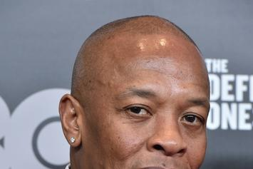 """Dr. Dre's First Week Sales Numbers For """"Compton: The Soundtrack"""""""