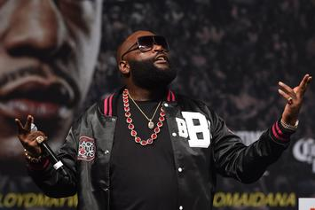"Rick Ross Facing Lawsuit For Using Old Jay Z Photo In ""Movin' Bass"" Video"